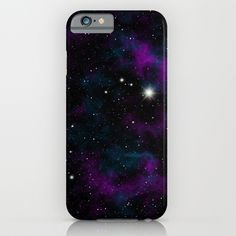 Blue and Purple Galaxy iPhone & iPod Case by Julie Erin Designs - $35.00