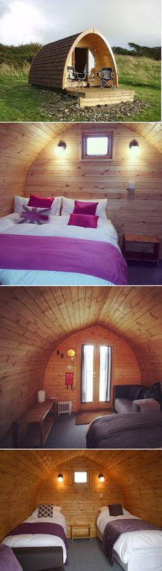Unique Camping Pods