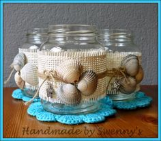 Do it yourself also known as DIY is the method of building modifying or repairing something without the aid of experts or professionals Sea Crafts, Rock Crafts, Diy And Crafts, Arts And Crafts, Seashell Art, Seashell Crafts, Mason Jar Crafts, Bottle Crafts, Diy Diwali Decorations