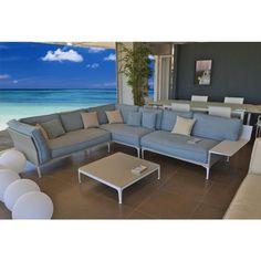 Dedon Rayn modulierbares Sofa, Dedon Lounge Kollektion