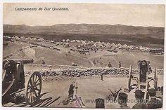 Campamento de Dar Quebdani (Postales - Postales Temáticas - Ex Colonias y Protectorado Español)