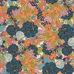 GONNA PAPER THE CEILING WITH THIS!!!!  English Garden Bari J. Removable Wallpaper