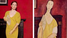 """Julianne Moore recreating """"Famous Works of Art"""" - Album on Imgur"""