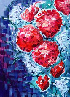 Summer Blooms by Pihla Gross http://www.degreeart.com/painting/pihla-gross/summer-blooms