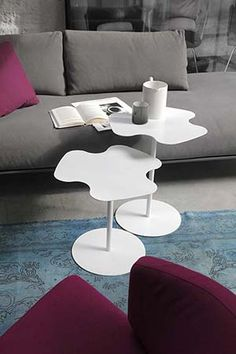 Buy the Flower Side Table by Bontempi Casa from our designer Tables collection at Chaplins - Showcasing the very best in modern design. Rock Around The Clock, Turn The Lights Off, Organic Modern, Sit Back, Modern Table, New Furniture, Home Furnishings, Modern Design, Contemporary