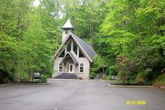 The Wedding Chapel In Gatlinburg Tn Little Where Kev And I Got