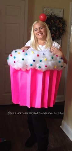 Easy Halloween Costume Cupcake Cutie... This website is the Pinterest of costumes