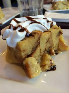 Bread pudding #desert with Bites of Food Tours #Boston #foodies - Dig in: http://www.zerve.com/CarmelFood/Gourmet