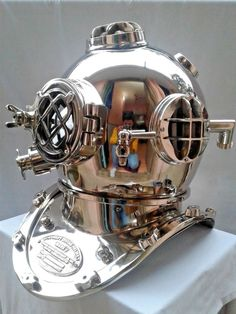 Maritime Antique Scuba Brass Finish Diving Helmet Us Navy Mark V Deep Sea Marine Us Firm In Structure