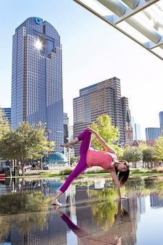 """Yoga Poses Around the World: """"Side Plank in the City."""""""