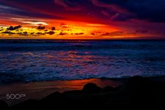 Colorful Sunset in Oceanside - January 21, 2017 - Oceanside    January 21, 2017       Photo: ©2017 Rich Cruse \ CrusePhoto.com