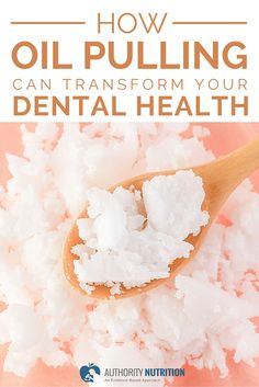 This is a detailed article about oil pulling, an old and effective trick to reduce bacteria and plaque in your mouth, improving oral health. Learn more here: http://authoritynutrition.com/oil-pulling-coconut-oil/