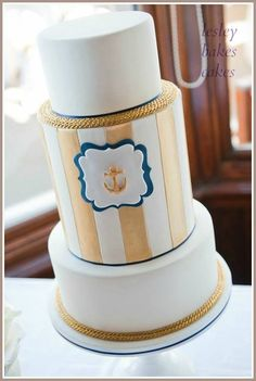 i wouldnt have this as my wedding cake... but an anchor??? my anchor obsession is real