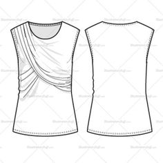 294 best FLat Garment sketches images on Pinterest in 2018 | Fashion ...