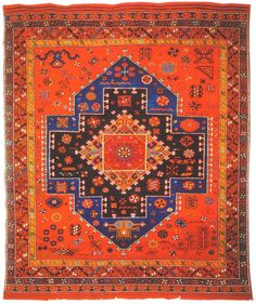 Turkish Tribal Rugs Village Rug From The Dobag Collective With Their