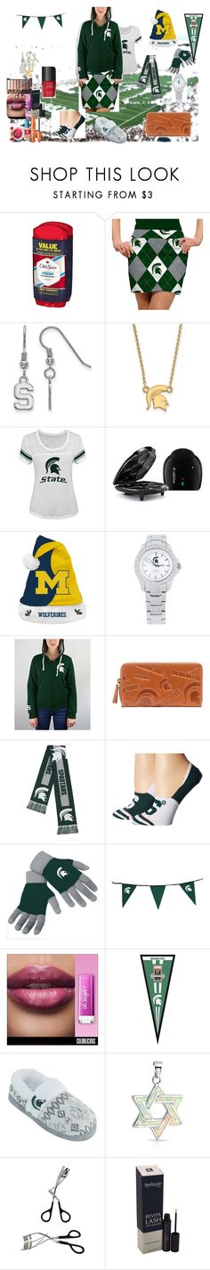 """""""Sporty look! (a group contest)"""" by naomig-dix ❤ liked on Polyvore featuring Old Spice, Loudmouth, LogoArt, Forever Collectibles, Jack Mason, E5, Stance, Bling Jewelry and COVERGIRL"""