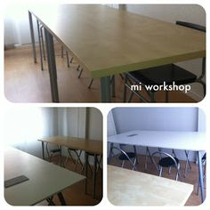 Mi workshop Conference Room, Workshop, Dining Table, Furniture, Home Decor, Signature Book, Cartonnage, Crates, Paper Envelopes