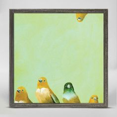 Family of Feathers ~ Giclee Canvas