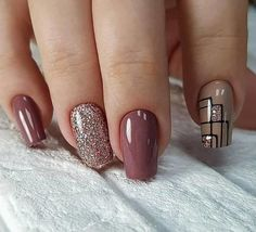 50 Simple Summer Square Acrylic Nails Designs In 2019 These trendy Nails ideas would gain you amazing compliments. Check out our gallery for more ideas these are trendy this year. Fall Nail Art Designs, Creative Nail Designs, Short Nail Designs, Acrylic Nail Designs, Nail Designs Pictures, Square Acrylic Nails, Feet Nails, Nailed It, Nail Manicure