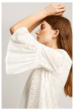 Tops - Mary Broderie Top