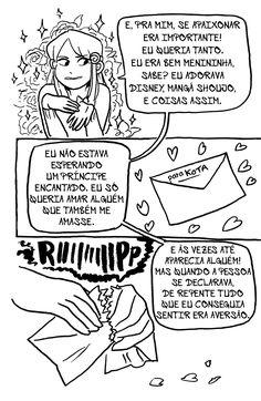 Arromantico Assexual descobrimento p.02 Ilustrações de Kotaline Jones