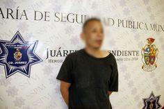 Municipales arrestaron a sujeto por el delito de robo de autopartes en grado de tentativa