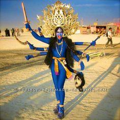 Hindu Goddess Kali and God Shiva Costumes...