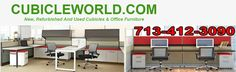 Affordable OFfice Cubicles For Sale In Katy, Texas Call Us For A FREE Discount Office Cubicles Quote  713-412-3090. Visit Our Office Cubicle Warehouse Located At 11050 West Little York, Bldg J, Houston TX 77041 Now that you've decided to buy office cubicles for your office staff and managers, you need to know a few things.