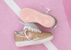 Nike Air Force 1 Linen KITH Miami Release Date | SneakerNews.com
