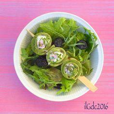 il giardino dei ciliegi: Girelle di zucchini grigliati, ricotta ed erbette ...