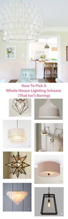 Young House Love | Light Fixtures That Work Together Without Being Boring | http://www.younghouselove.com