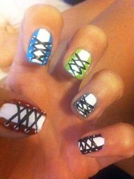 #Sephora #nailspotting This is one of my favorite Toe Nail designs. :-)