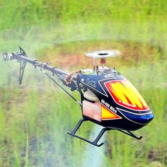 Global Eagle 480N DFC Fuel Oil Nitro RC Helicopter Frame Kit