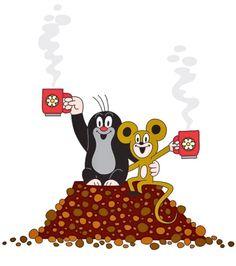 Krtek Children's Book Illustration, Graphic Design Illustration, La Petite Taupe, Right In The Childhood, Drawing Exercises, Pin Logo, Cute Disney Wallpaper, Children's Picture Books, Penny Black
