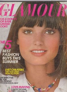 May 1975 cover with Barbara Minty