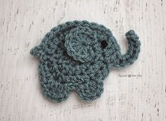Elephant ~ free pattern ᛡ