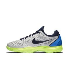 best loved 641f2 c2ecc NikeCourt Zoom Cage 3 Hard Court Men s Tennis Shoe - Grey Nike Zoom, Air Max