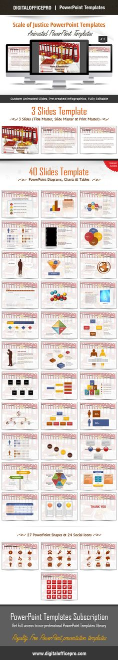 The 3316 best powerpoint templates images on pinterest role models impress and engage your audience with scale of justice powerpoint template and scale of justice powerpoint toneelgroepblik Image collections