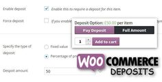 WooCommerce Deposits v1.5 – Partial Payments Plugin