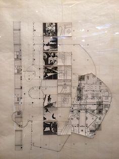 Ideas drawn:  Bernard Tschumi, Parc de la Villette, Paris, 1983.