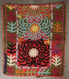 Uzbek Lakai Embroidery 46 x 42 cm