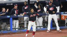 Indians stage huge comeback, beat Yankees in extra innings of Game 2: What to know  -    The Indians staged a furious comeback on Friday to take a 2-0 lead over the Yankees  - October 6, 2017