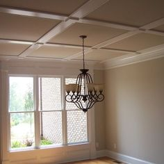 Dining Room Ceiling Trim Design, Pictures, Remodel, Decor and Ideas