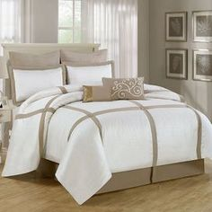 8-Piece Waterford Comforter Set