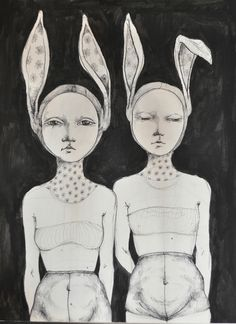 Sketchbook by Zina Nedelcheva, via Behance