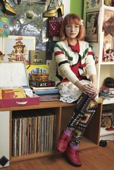 The Style Rookie, Tavi Gevinson! I love her new site for teenage girls (everything I never did) http://rookiemag.com/