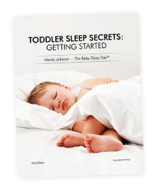 Toddler Sleep Secrets - a FREE ebook! Are You Doing These 5 Things to Get the Most Out of Your Toddler's Sleep?