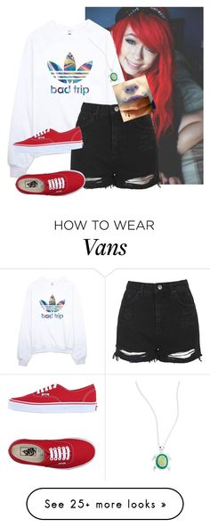 """""""Random #3"""" by paniceverywhere on Polyvore featuring adidas, Topshop, Vans, Lord & Taylor and country"""