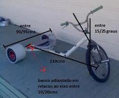 How I built a Drift Trike a step by step guide. : Frame Geometry.