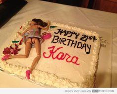51 Ideas birthday cake drunk barbie funny for 2019 Drunk Barbie Cake, Barbie Funny, Barbie Birthday Cake, 21st Birthday Cakes, Happy 21st Birthday, Funny Birthday, Birthday Sayings, 21 Birthday, Happy Birthdays